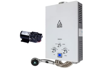 Portable Gas Hot Water Heater with Pump - GK-12-C