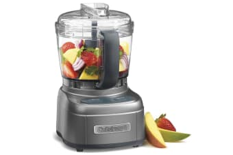 CUISINART MINI PREP PROCESSOR CHOPPER BLENDER MIXER 4 CUP METAL GREY 46824