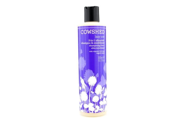 Cowshed Lazy Cow 2-in-1 Ultra-Rich Shampoo & Conditioner (300ml/10.15oz)