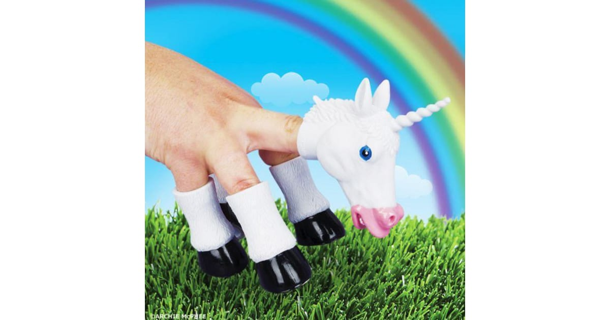 Handicorn Unicorn Hand Puppet Funny Horse Magical Fun Play Quirky Weird  Awesome Toy | Gadgets & Novelties |