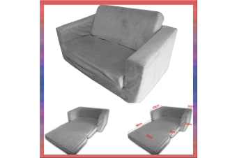 Kids Flip Out Sofa GREY Small