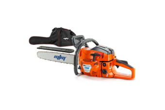 MTM 72CC Petrol Commercial Chainsaw 22 Inch Bar Chain Saw E-Start Tree Pruning