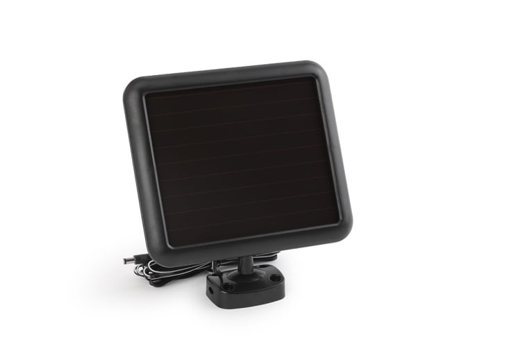 Solar Powered Motion Sensor Dual LED Flood Light
