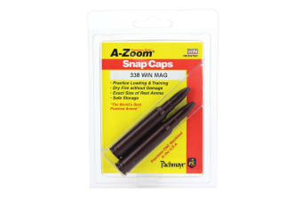 A-Zoom 338 Lm Metal Snap Caps Series C - 2 Pack