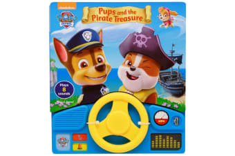 Paw Patrol Pups And The Pirate Treasure (Little Steering Wheel)