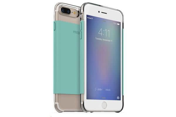 Mophie iPhone 7 Plus Hold Force Base Case - Clear Mint