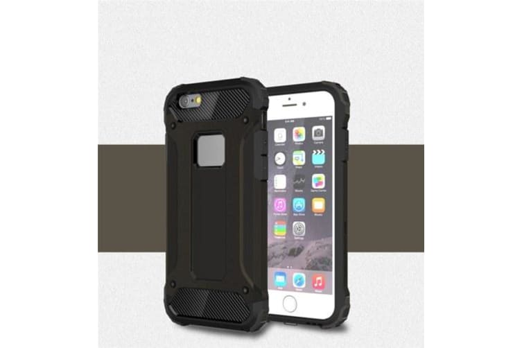 Case Slim Fit Dual Layer Hard Back Cover Bumper Protective Shock-Absorption & Skid-proof Anti-Scratch Case for Apple iPhone 6 Plus / 6S Plus 5.5 inch goldblack