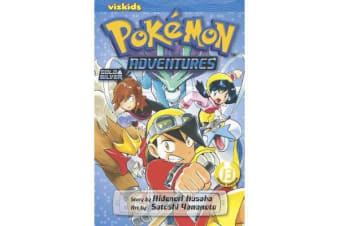 Pokemon Adventures (Gold and Silver), Vol. 13