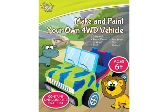 Make And Paint Your Own 4WD Vehicle