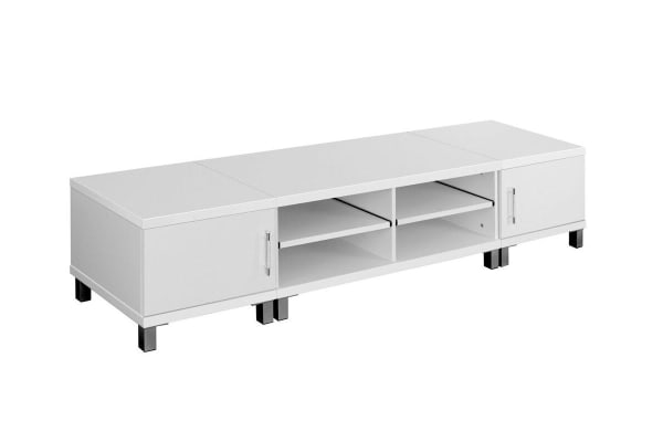 Lowline TV Entertainment Unit (White)