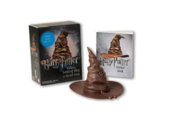 Harry Potter Talking Sorting Hat and Sticker Book - Which House Are You?