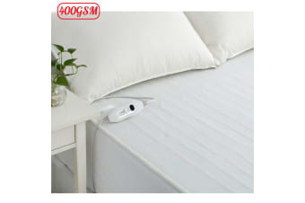 Electric Fitted Blanket Double (2 Controllers) by Accessorize