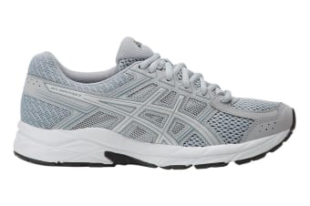 ASICS Women's Gel-Contend 4 Running Shoe (Grey/Silver, Size 5)