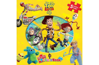 Disney Pixar Toy Story 4 My First Puzzle Book