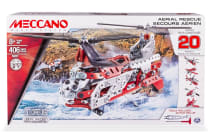 Meccano Engineering 20-in-1 Helicopter Model Set
