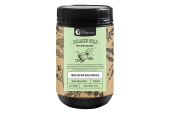 Nutra Organics Collagen Build with BodyBalance (Tone Repair Build Muscle) Unflavoured 450g Powder