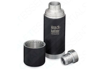 KLEAN KANTEEN TKPRO Insulated 750ml 25oz SHALE BLACK Drink Bottle