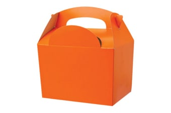 Colpac Party Boxes (Pack Of 50) (Orange) (One Size)