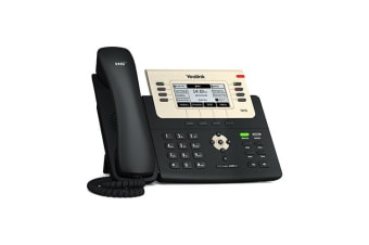 Yealink SIP-T27G IP phone Black,Gold Wired handset LCD 8 lines