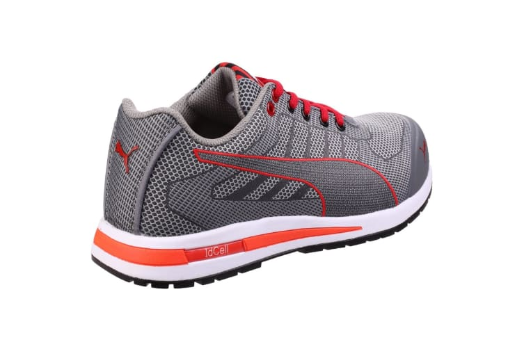 Puma Mens Xelerate Knit Low Safety Trainers (Grey) (6 UK)