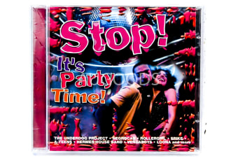STOP! IT'S PARTY TIME! BRAND NEW SEALED MUSIC ALBUM CD - AU STOCK