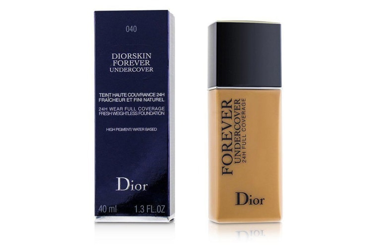 Christian Dior Diorskin Forever Undercover 24H Wear Full Coverage Water Based Foundation - # 040 Honey Beige 40ml