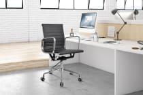 Ergolux Eames Replica Low Back Ribbed Office Chair Executive Collection - (ELEAMPULBACH) - Assembly Manual