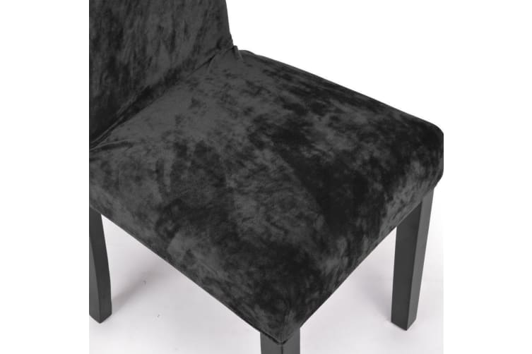 2/6/8 X Super Fit Removable Chair Cover Dining Seat Protector Slipcover Stretch