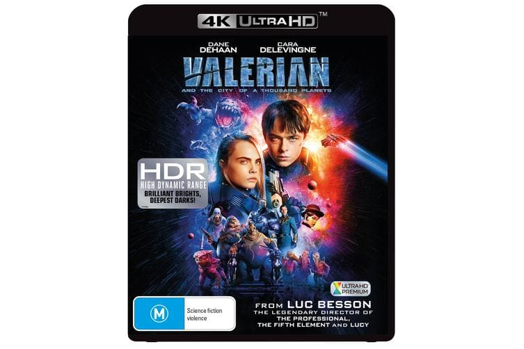 Valerian and the City of a Thousand Planets 4K Ultra HD Blu-ray Digital Download UHD