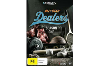 All-Star Dealers : Season 1 (2015, 2-Disc Set) Discovery Channel