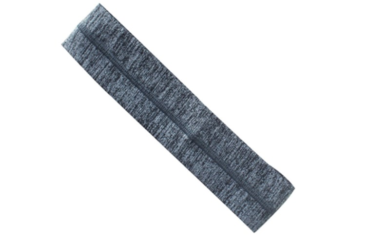 Ultimate Athletic Performance Sweatband Best For Sports,Running,Workout,Yoga + Elastic Hair Band Grey