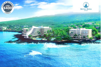 HAWAII: 5 Night Island Escape at the Royal Kona Resort for Two