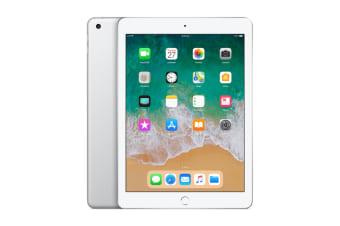Apple iPad 2018 (128GB, Wi-Fi, Silver)