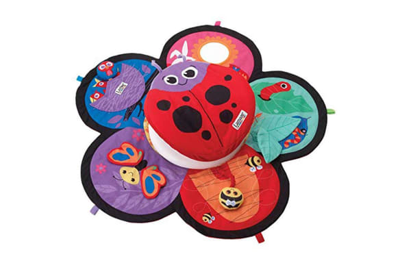 Lamaze Spin and Explore Garden Baby Gym