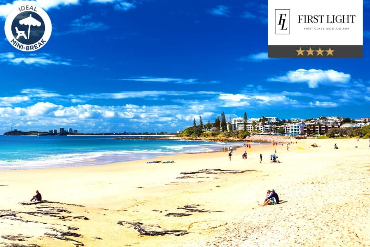 SUNSHINE COAST: 3 Nights at First Light Mooloolaba for Two (1 Bedroom Apartment)