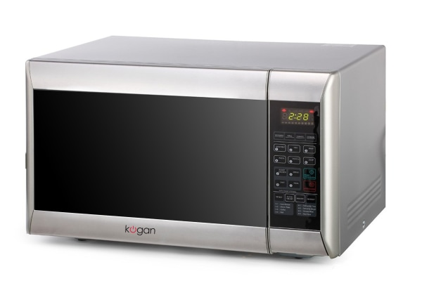 Kogan 32L Stainless Steel Convection Microwave Oven with Grill