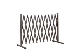 Expandable Safety Gate Trellis Fence Barrier Metal Steel Traffic Indoor Outdoor