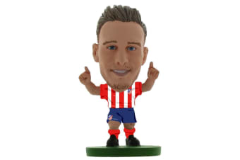 Atletico Madrid FC SoccerStarz Saul Niguez (Red/White/Blue)