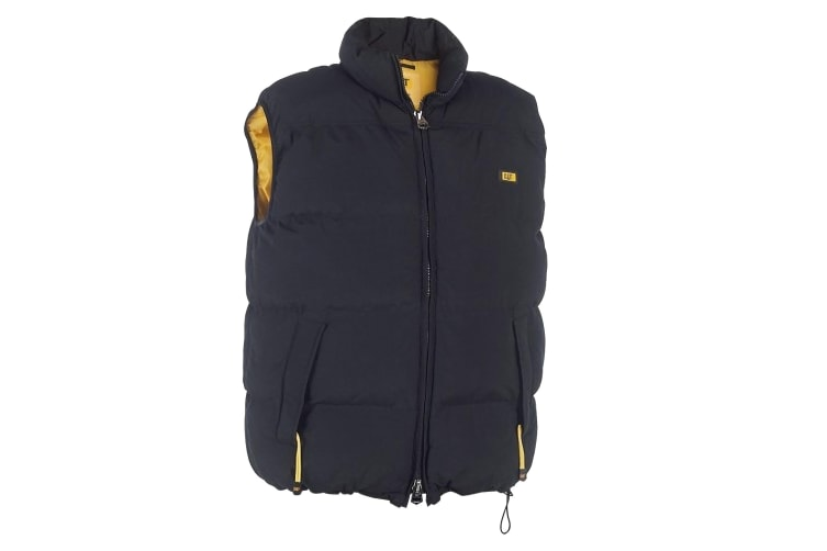 Caterpillar C430 Quilted Insulated Vest / Mens Jackets (Black) (Medium)