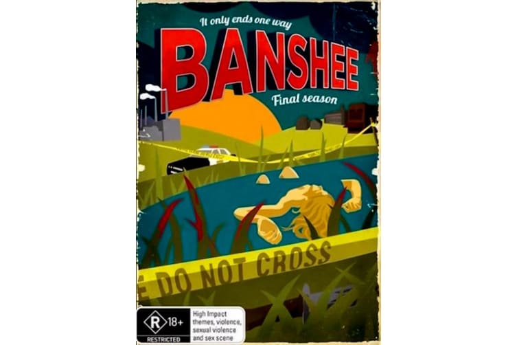 Banshee : Season 4 Final - Rare- Aus Stock DVD PREOWNED: DISC LIKE NEW