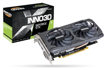 Inno3D N165S2-04D6X-1720VA31 graphics card GeForce GTX 1650 SUPER 4 GB GDDR6