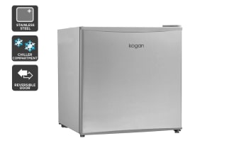 Kogan 46L Bar Fridge - Stainless Steel
