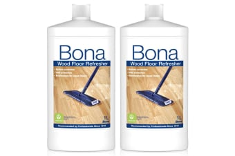 2PK Bona 1L Wood Floor Refresher Maintenance for Varnished Wooden Protection