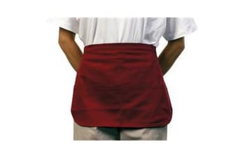 BonChef Money Pocket Apron (Burgundy)