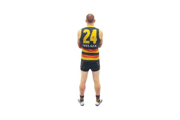 Sam Jacobs AFL Adelaide Crows 3D Printed Mini League Figurine - 23cm