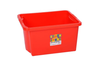 Wham Stack And Store Box (Red) (35L)
