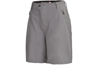 Trespass Womens/Ladies Brooksy Hiking Shorts (Storm Grey)