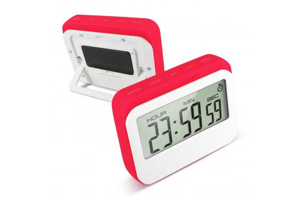 Digital Lcd Magnetic Clock Count Down Timer 60Min Alarm Kitchen Sport - Blue