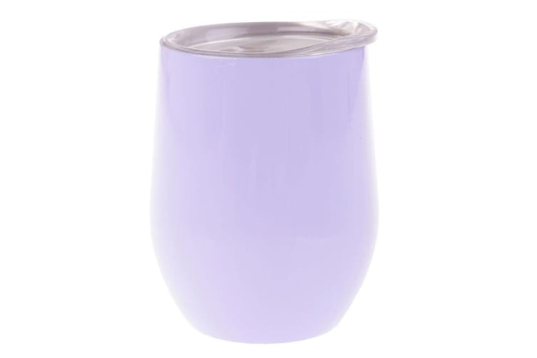 3PK Oasis 300ml Stainless Steel Double Wall Insulated Wine Drink Tumbler Lilac