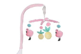 Lolli Living Musical mobile set Flamingo